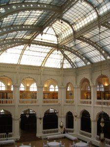 Abb. 12 Kunstgewerbemuseum Budapest - Atrium