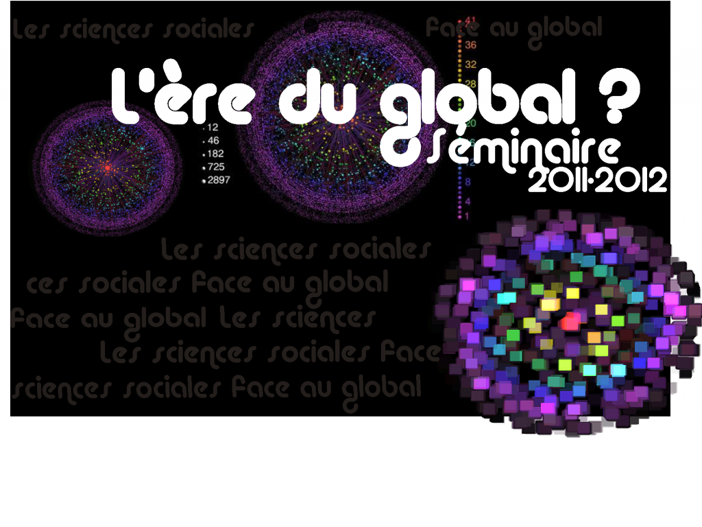 Séminaire Les sciences sociales face au global : «Locating Global Migration through Festive Events» , 22 mai 2012, Paris Ouest