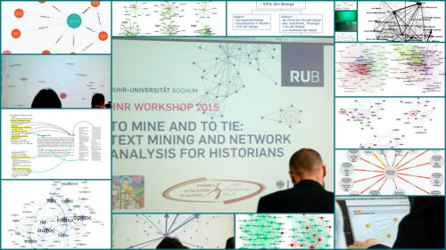 Several visualisations from the HNR Workshop 2015