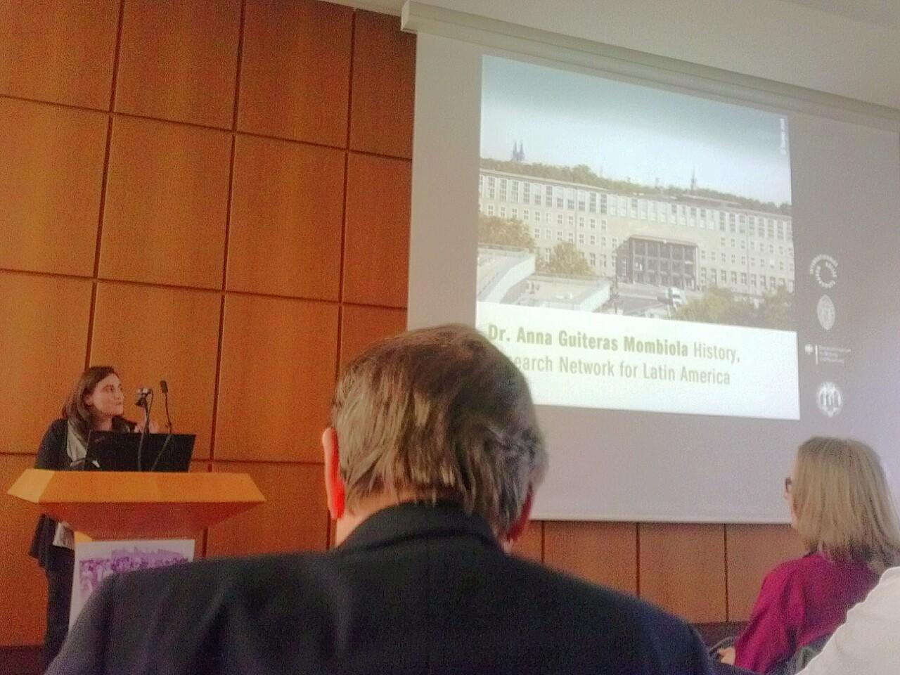 Anna Guiteras Welcome Reception Fellows Koeln