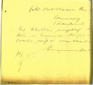 Korschenbroich 1A-2110 30-01-1915 2