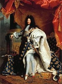 Portrait de Louis XIV par Hyacinthe Rigaud (salon d'Apollon, Versailles)