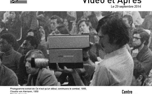 Conférence Vidéo et après : la Vidéo à Vincennes, centre universitaire expérimental, 1969/1980
