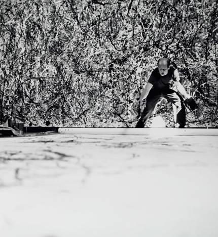 Hans Namuth, Jackson Pollock © Centre Pompidou, MNAM-CCI
