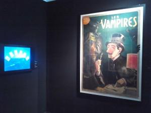Exposition Cinéma Premiers Crimes, Antichambre. Copyright: S.E. LOUIS