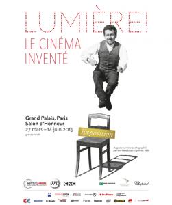 """Affiche Exposition """"Lumière"""" Grand Palais"""