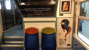 Gaumont, SNCF et le STIF célèbrent ensemble les 120 ans du cinéma - salle2_Fantomas © IHTP - CNRS