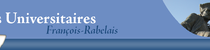 "La collection ""Sérial"" aux Presses Univ. François Rabelais (Tours)"