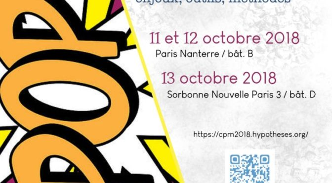 Assises CPM 2018 : programme