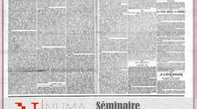 "Séminaire ""Roman-Feuilleton"""