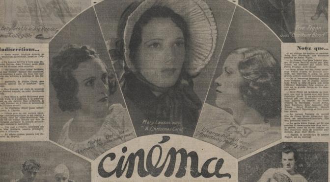 Journée d'étude : L'écriture cinématographique dans la presse du XXe siècle au prisme des humanités numériques