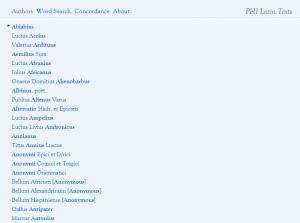 Liste des auteurs