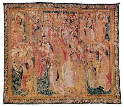 Resurrección de Lázaro, s. XV. Museo de tapices de La Seo, Zaragoza