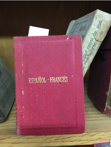 Picture 2. An example of dictionary in the Khalidi Library