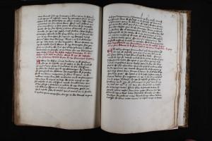 Manuscrit de Jean dardel