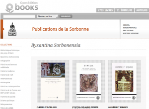 Byzantina Sorbonensia - Publications de la Sorbonne