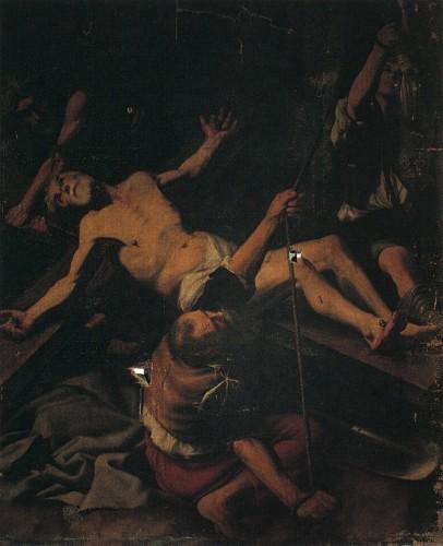 Abb. 1, Kreuzigung Petri