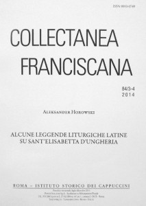 Collectanea Franciscana