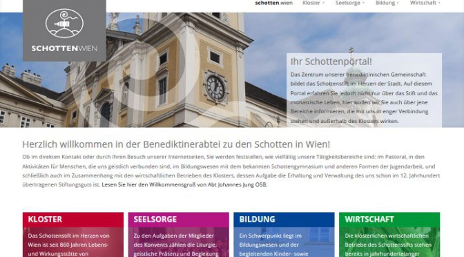Neues Webportal www.schotten.wien