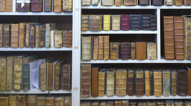 Buchschuhe für die Handschriften