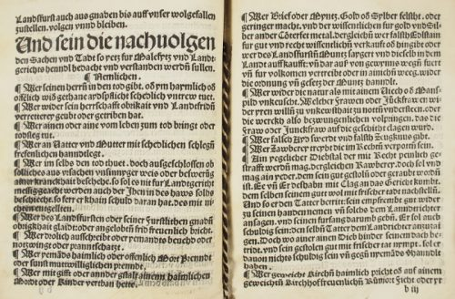 Landgerichtsordnung für Österreich unter der Enns 1514