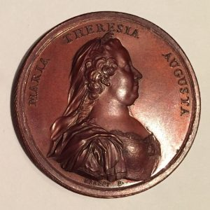 Medaille Maria Theresia 1770