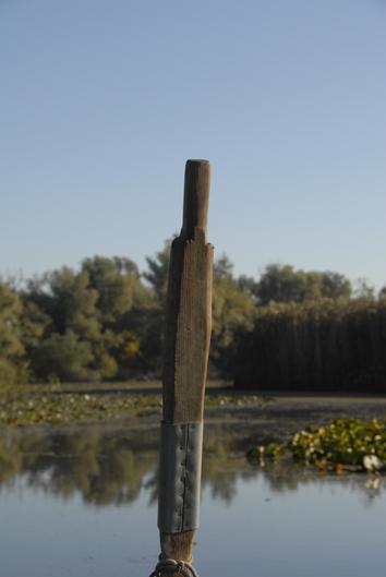 barque à l'arrêt