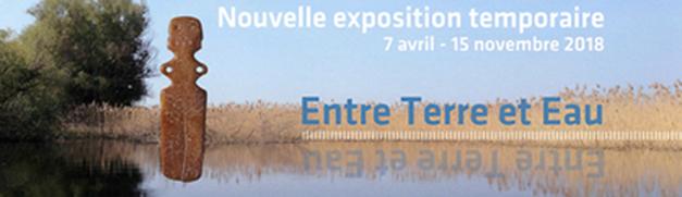 Inauguration de l'exposition « Entre terre et eau » à la cité de la Préhistoire (Orgnac-l'Aven)