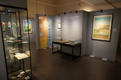 Exposition des Archives Historiques du Département de Seine-Maritime lors de leur inauguration