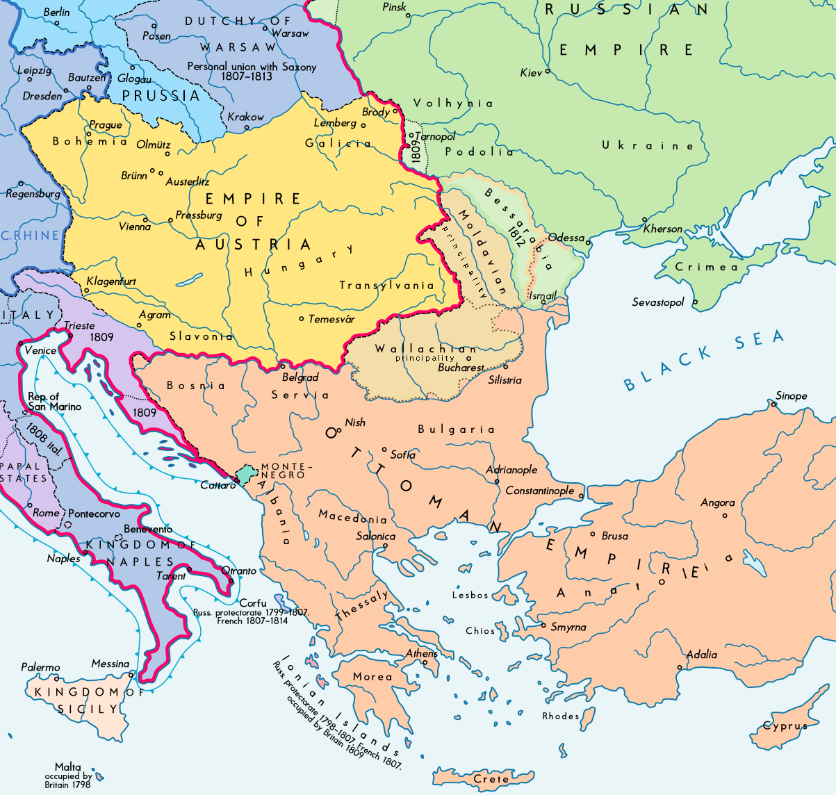 Osmanisches Reich Karte 1914.Osmanisches Reich Planet Clio