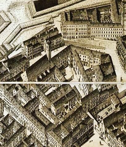 Wiener Bürgerspital ca. 1770