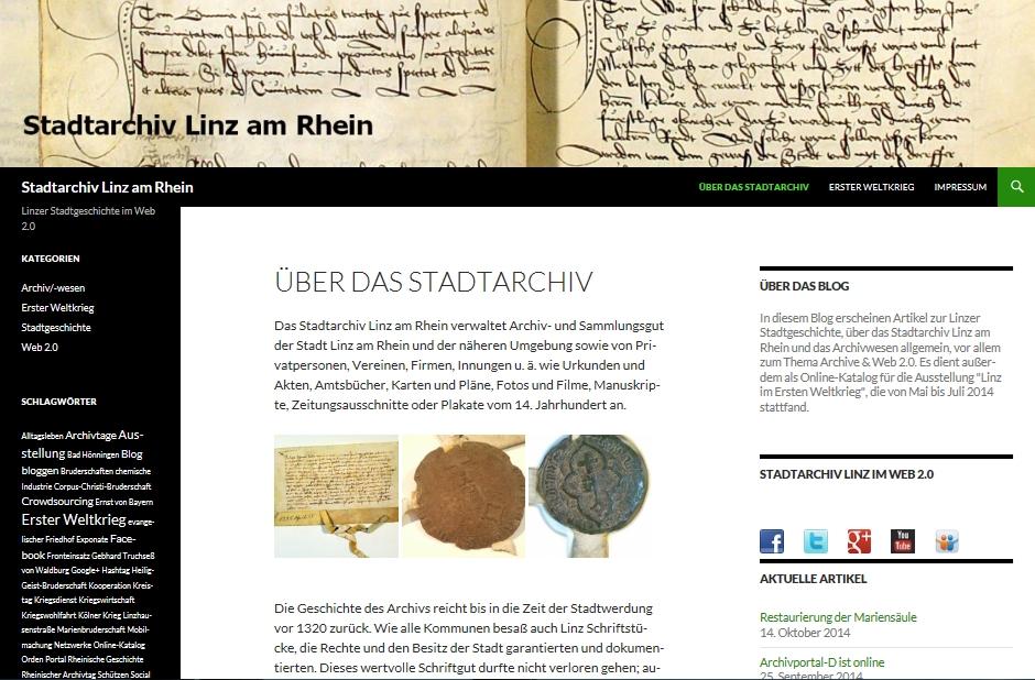 Stadtarchiv Linz am Rhein