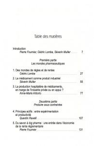 TABLE DES MATIERES p. 1