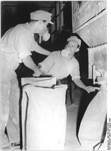 Manutention de principes actif en 1958