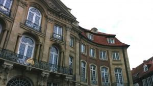 Der Sitz des LWL-Museumsamtes für Westfalen im Erbdrostenhof in Münster.