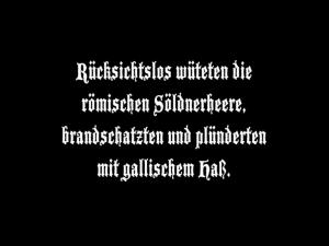 """Zwischentitel aus """"Die Hermannschlacht"""". Entnommen aus der DVD-Edition des LWL-Medienzentrums."""