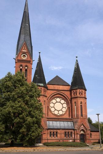 Die Dessauer Pauluskirche, Standort des Archivs. Foto: Michael Hecht.