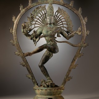 Shiva Nataraja. Art Chola, Tamil Nadu (Inde) photographed by the LACMA.