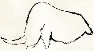 Le rhinocéros de Rouffignac
