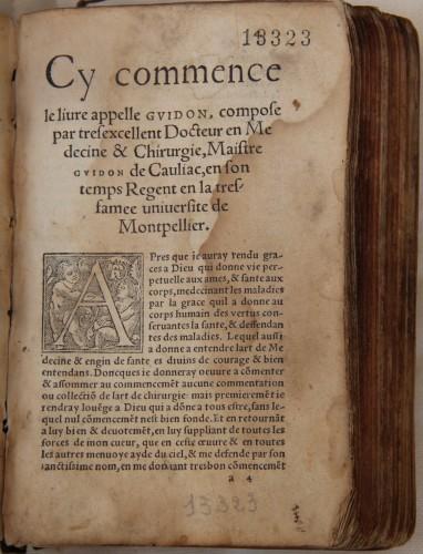 SCD Université d'Aix-Marseille – Bibliothèques de Santé Bibliothèque de Médecine-Odontologie – Res 13323
