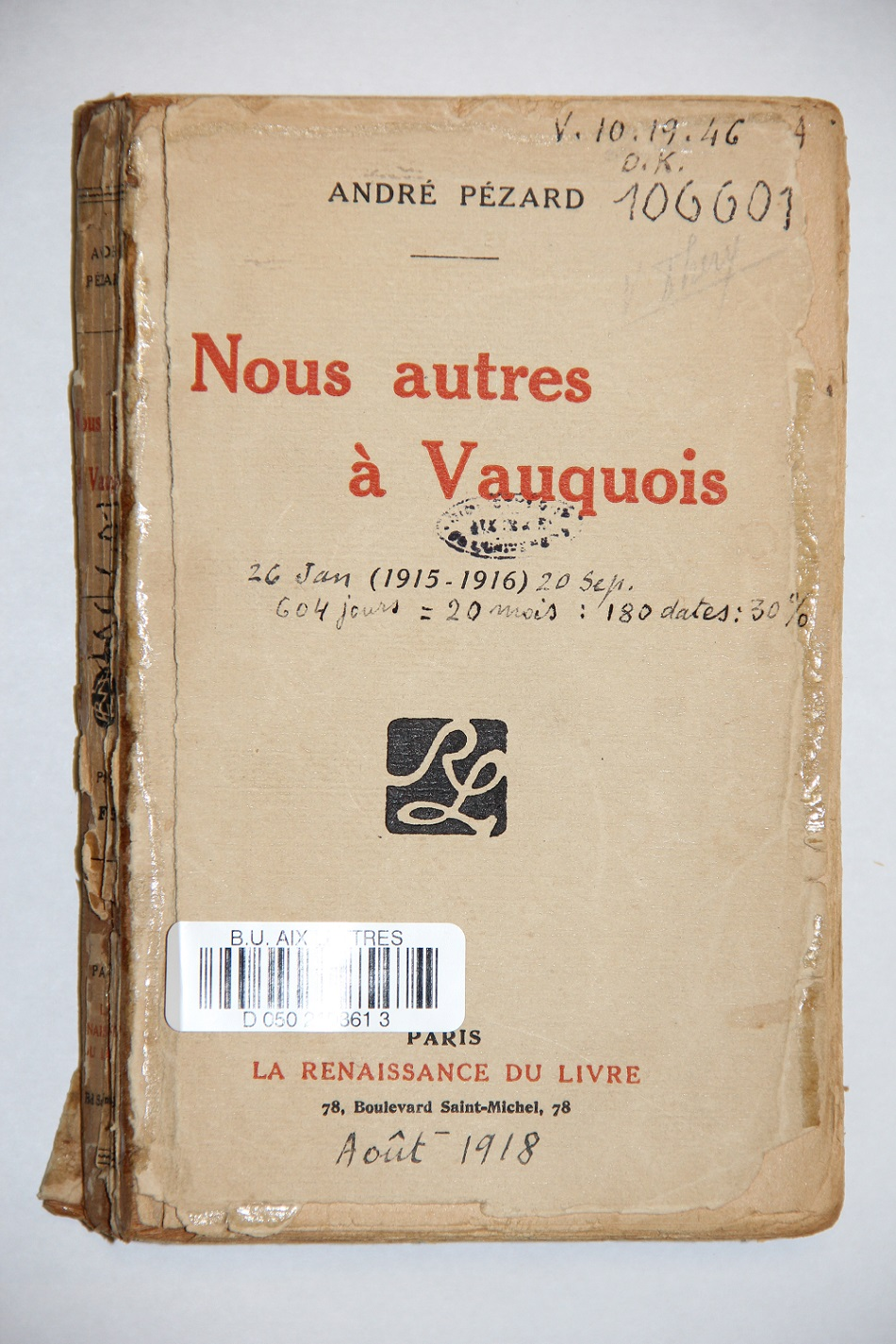 Annotation 5 lettres