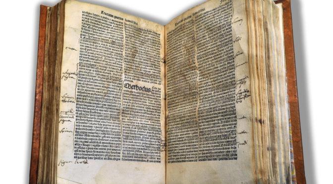 """Le """"doyen"""" des bibliothèques de santé a 500 ans !"""