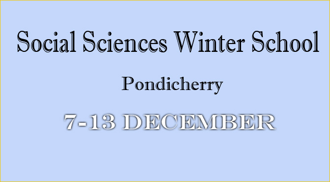Call for participants / Deadline 01 November 2014 (Social Sciences Winter School 2014)