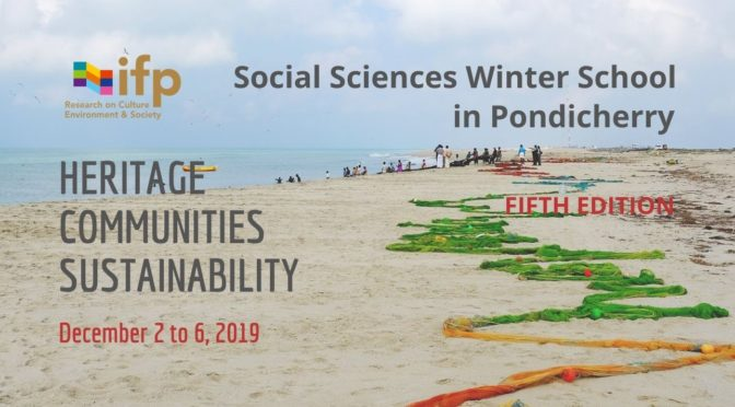 Heritage, Communities, and Sustainability 2019