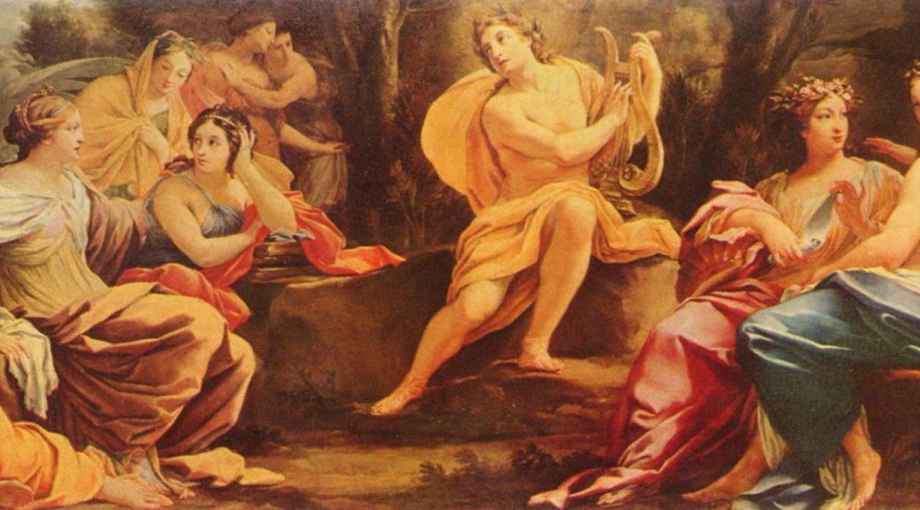 Simon Vouet: Allegorie der Künste, um 1730