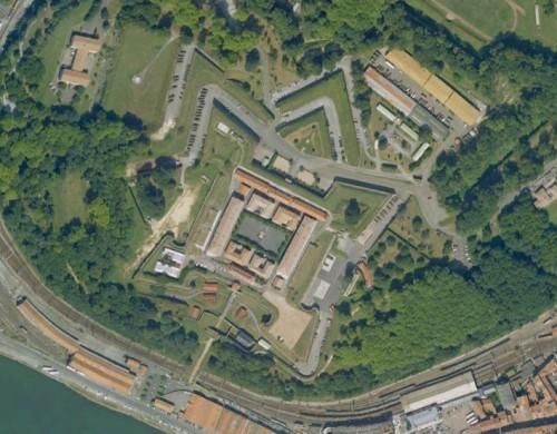 Bayonne - erstellt mit Google Earth