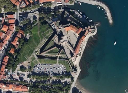 Collioure - erstellt mit Google Earth