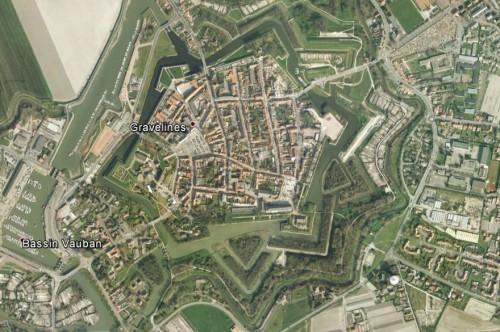 Gravelines - erstellt mit Google Earth