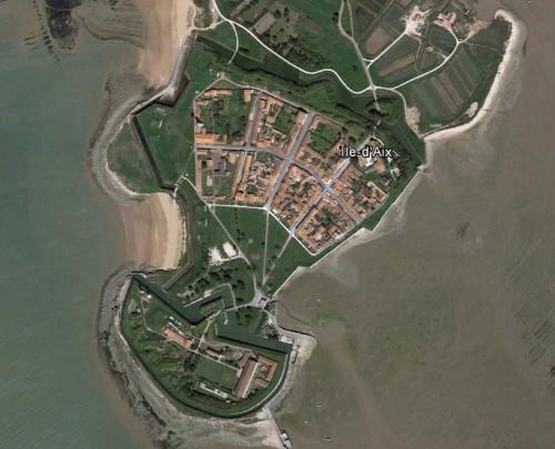 Ile-d'Aix, erstellt mit Google Earth