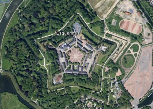 Zitadelle Lille - erstellt mit Google Earth